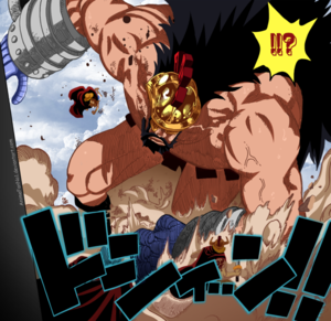 *Luffy v/s Hajrudin*