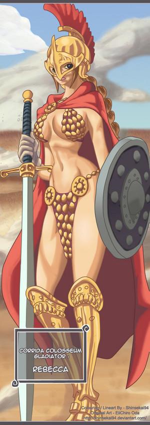 *Gladiator Rebecca*