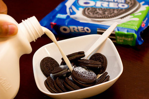 cereal oreo------------------