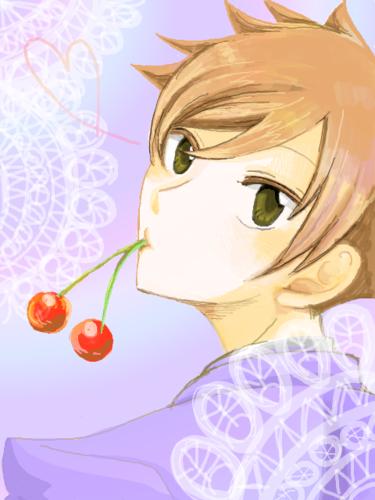 Host Club - le lycée de la séduction fond d'écran possibly containing a bouquet and a rose called Hikaru Hitachiin