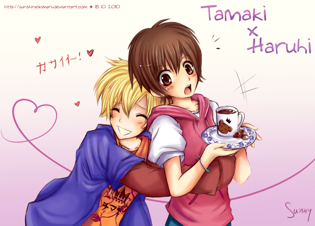 Tamaki and Haruhi - Ouran High School Host Club Fan Art ...
