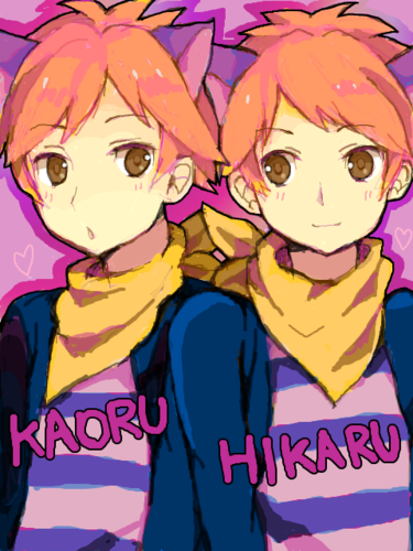 Ouran High School Host Club Hintergrund containing Anime entitled Hikaru and Kaoru