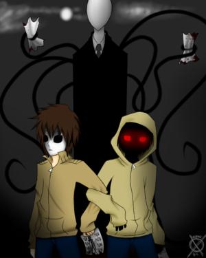 Slenderman, Masky, Hoodie