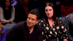 Paget Brewster at Hollywood Game Night