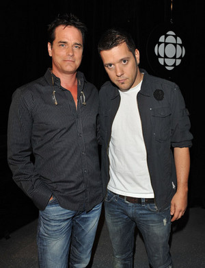 Paul Gross with George Stroumboulopoulos