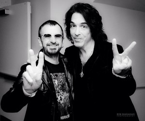 Paul Stanley and Ringo Starr