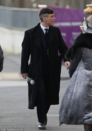 Cillian Murphy Returns to Set of Peaky Blinders Ahead of Series 2