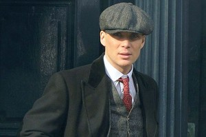 Cillian Murphy on Set Season 2