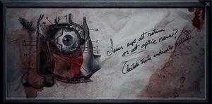 Dr. Frankenstein's notebook