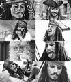 captian jack sparrow - pirates-of-the-caribbean fan art
