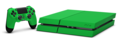 PlayStation 4 Green