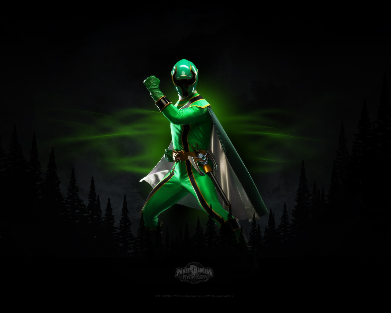 mystic force green ranger - The Power Ranger Wallpaper ...