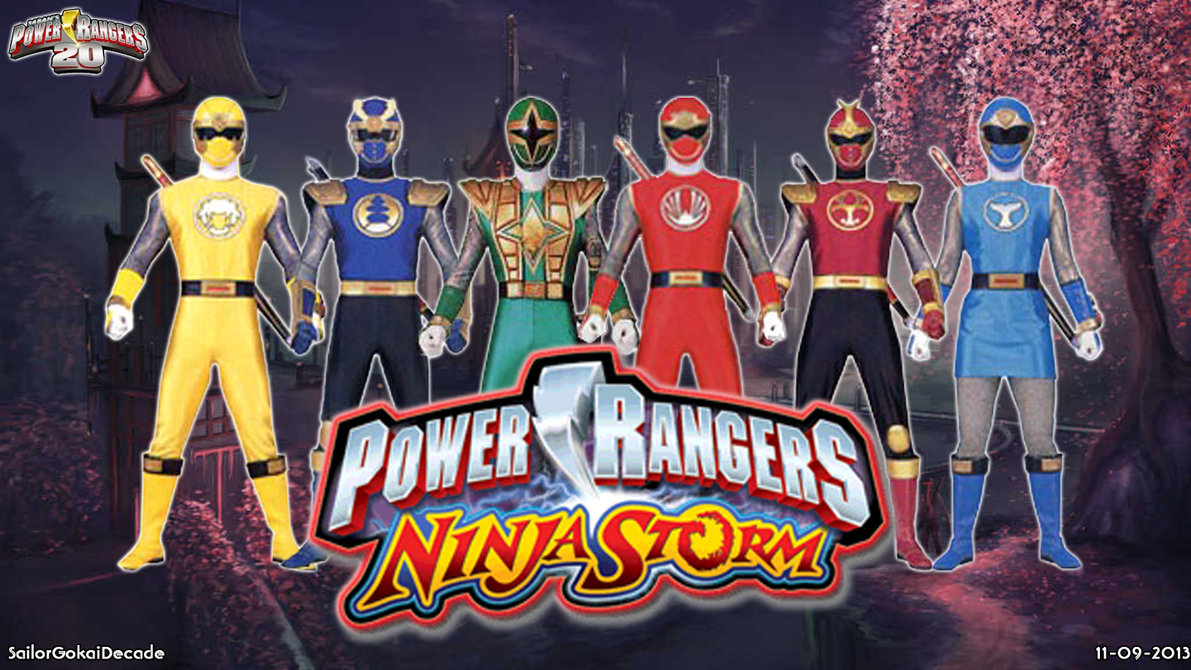 The Power Ranger Images Ninja Storm HD Wallpaper And Background Photos
