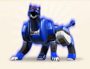 Blue jaguar zord