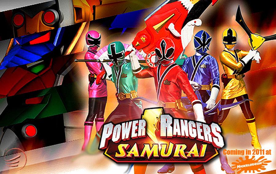 Power rangers samurai history!