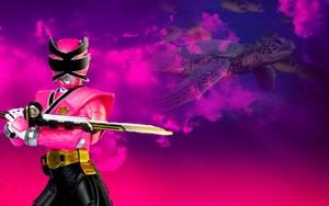 kulay-rosas samurai mega ranger