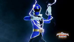 Blue super megaforce ranger