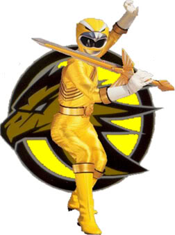 Yellow eagle ranger