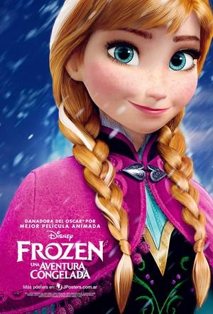 《冰雪奇缘》 Anna Poster