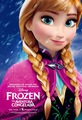 겨울왕국 Anna Poster
