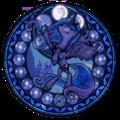 Princess Luna Stained Glass - princess-luna-of-mlp fan art