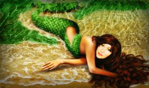 Prue the mermaid