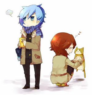 Reiji had to stop for Neko-chan