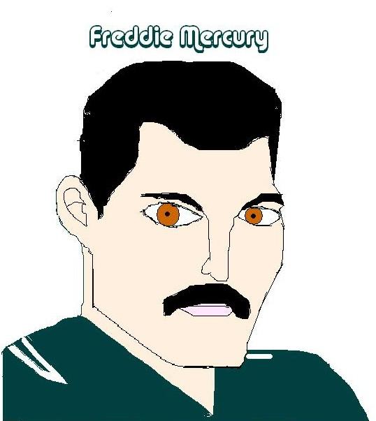 My drawing of Freddie