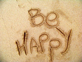 Just be happy! - quotes photo