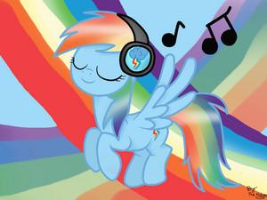 संगीत इंद्रधनुष Dash
