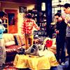Rajesh, Howard, Leonard and Sheldon