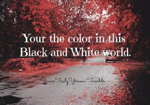 Your the color