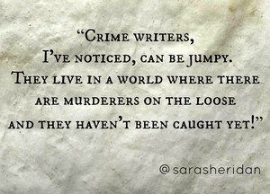 Crime Writers Quote