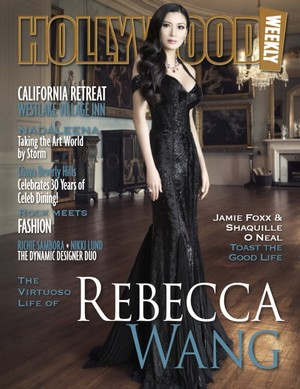 Rebecca Wang interviewed for Hollywood Weekly magazine.