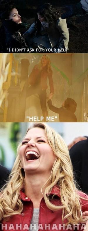 Regina's Savior