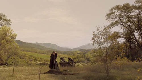 "Reign [TV Show] hình nền probably containing a cương ngựa, dây cương, bridle path and a herder called Reign ""Sacrifice"" Screencaps"