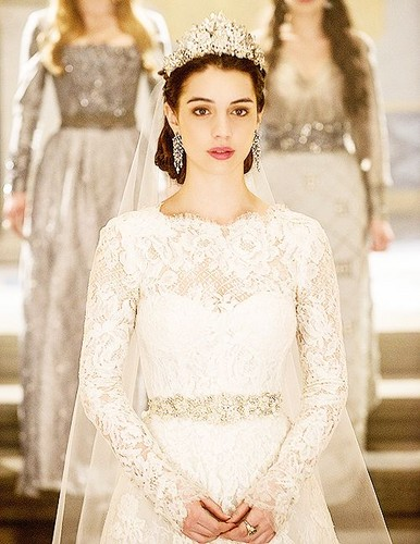 Reign [TV Show] 壁纸 with a bridesmaid called Mary's Wedding