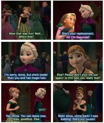 Rise of the 겨울왕국 메리다와 마법의 숲 라푼젤 용 바탕화면 titled Elsa pranks me