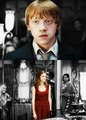 Ron/Hermione - ronald-weasley fan art