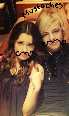 MUSTACHES!!