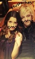 MUSTACHES!! - ross-lynch-and-laura-marano fan art