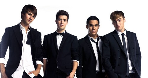 Rushers all over the world! wallpaper containing a business suit, a suit, and a three piece suit titled Big Time Rush ✨