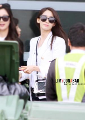 Yoona at airport