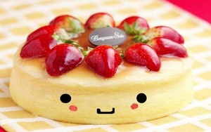 Cute cheese cake