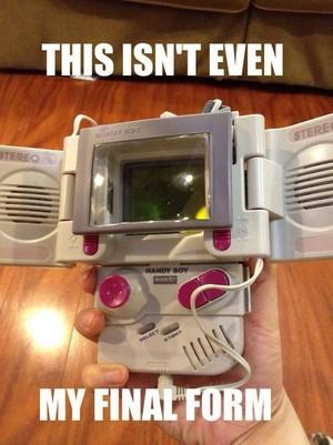 Gameboy evolution