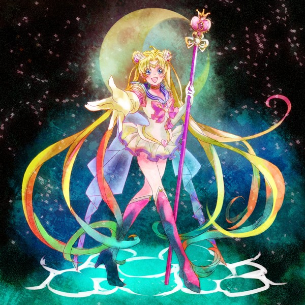 Sailor Moon arco iris Moon - Winx Club & Sailor Scouts foto