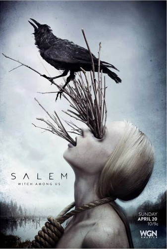 Salem TV Series wallpaper probably containing a sign called Salem Official Poster