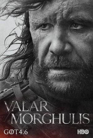 Sandor Clegane - Character poster