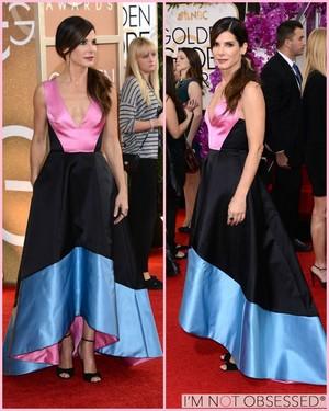 Sandra Bullock Golden Globe (2014)