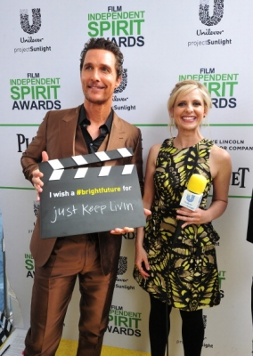 Sarah At The 1st March Film Independent Spirit Awards (March 1st, 2014)